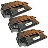 LD Remanufactured Replacement Laser Toner Cartridges for HP C4127X (27X) Black (3 Pack) for the LaserJet 4000n, 4050se, 4000se, 4050tn, 4000tn, 4050, 4050n, 4050t, 4000, 4000t, 4050 usb-mac Printers