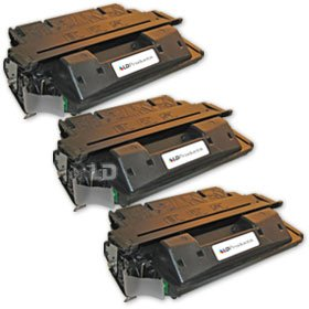 LD Remanufactured Replacement Laser Toner Cartridges for HP C4127X (27X) Black (3 Pack) for the LaserJet 4000n, 4050se, 4000se, 4050tn, 4000tn, 4050, 4050n, 4050t, 4000, 4000t, 4050 usb-mac Printers by LD Products