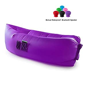 CloudLounger w/ Bluetooth Speaker - Purple