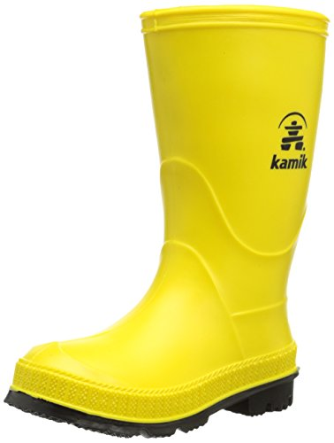 Kamik Stomp Rain Boot , Yellow/Black, 13 M US Little Kid