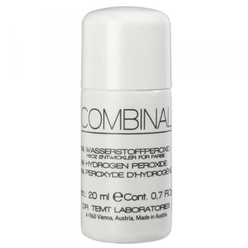 Combinal 5% Hydrogen Peroxide for Brow and Lash Tinting, 0.7 Ounce