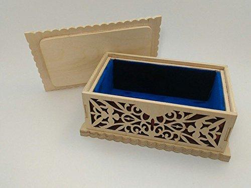 Handmade Jewelry Box Organizer Storage Armoire Necklace Cabinet