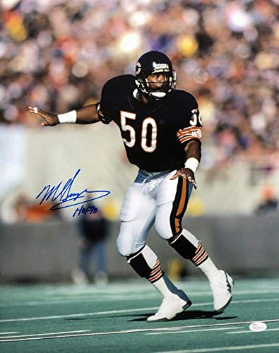 (Mike Singletary Signed Chicago Bears 16x20 Photo