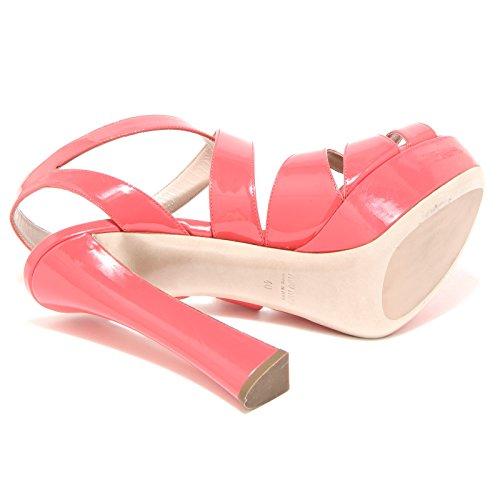 Sandal 86230 Miu Women Sandalo Shoes Scarpa Corallo Vernice Donna 404fCqZTw