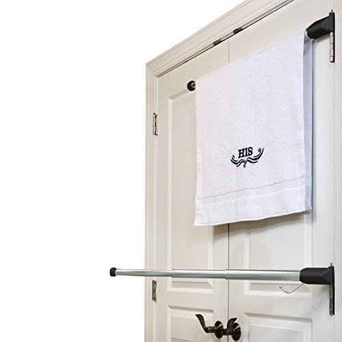 Hinge N Hang: The Perfect Towel Rack (In Bathroom Towels Ways Hang To)