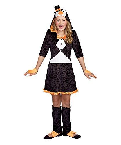 SugarSugar Girls Pretty Lil' Penguin Costume, One Color, Large, One Color, Large by (Pretty Lil Penguin Costumes For Girls)