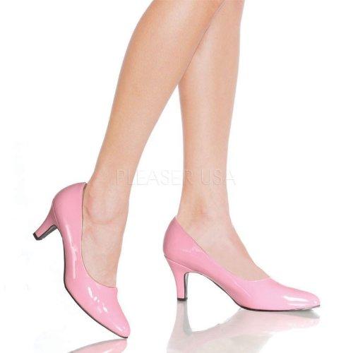 Pleaser - Zapatos de vestir para mujer rosa rosa pastel
