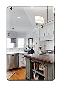 Hot New Traditional White Kitchen With Contrasting Sage Kitchen Island Case Cover For Ipad Mini/mini 2 With Perfect Design