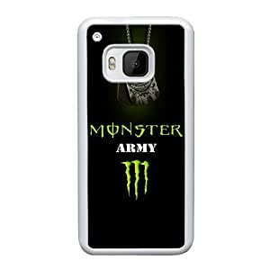 HTC One M9 Custom Cell Phone Case Monster Energy Case Cover UWFF68329