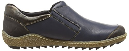 Blue Water Womens' Tex Remonte Flat Combi Shoe Leather Combi Resistant Blue Dorndorf ppOYw