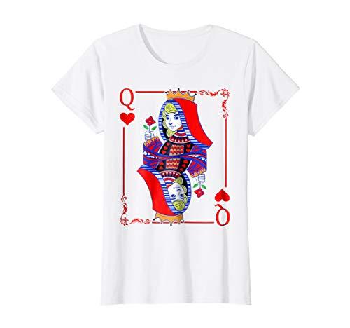Queen Of Hearts Halloween Costume T-shirt