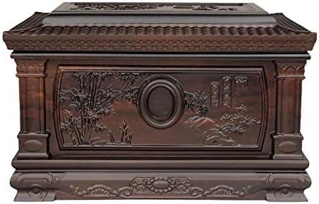 灰大人の骨壷 火葬骨壺永遠メモリーボックス - - 木製人間の灰大人のための骨壷はビューティフルライフ骨壷はまた、装飾的な効果を持っています(850 Cu.In) BUYT