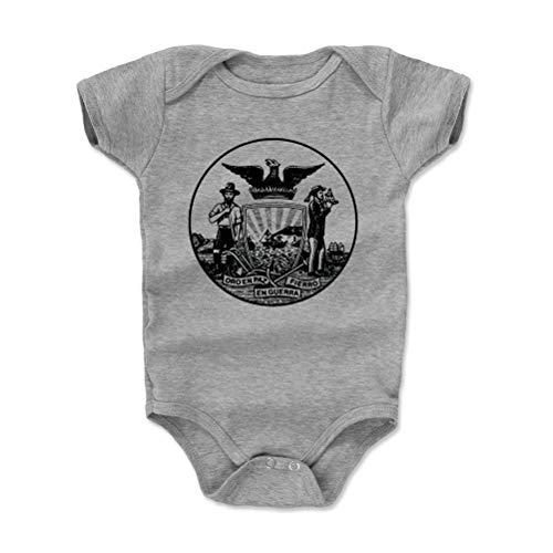 San Diego Baby Clothes, Onesie, Creeper, Bodysuit - 6-12 Months Heather Gray - San Francisco California ()