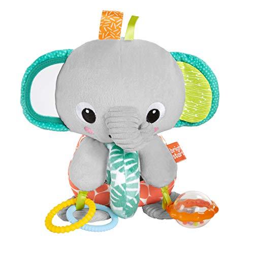 Bright Starts Explore & Cuddle Elephant Plush