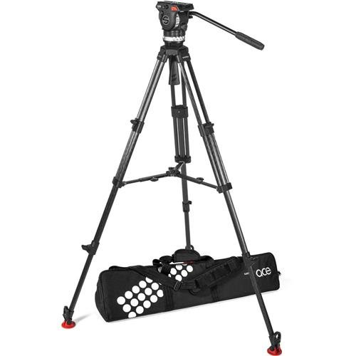 Sachtler Ace XL Tripod System with CF Legs and Mid-Level for sale  Delivered anywhere in USA