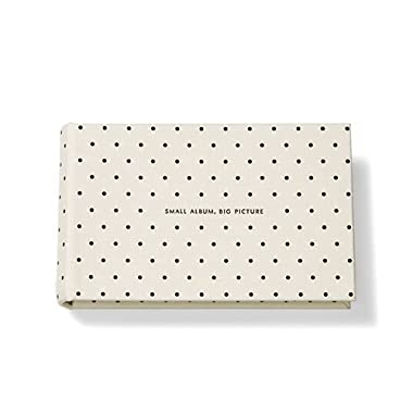kate spade new york Small Photo Album, It All Just Clicked (Deco Dots)