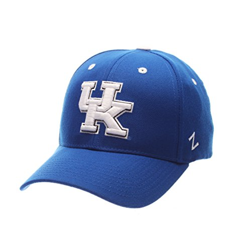 NCAA Kentucky Wildcats Men's ZH Stretch Fit Cap, Royal, Adjustable Size (Kentucky Wildcats Ncaa Football Acrylic)