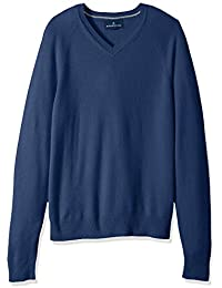 Men's 100% Premium Cashmere V-Neck Sweater
