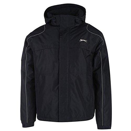 Slazenger Herren Kapuzenjacke Navy Jacken Mäntel Oberbekleidung Sportswear