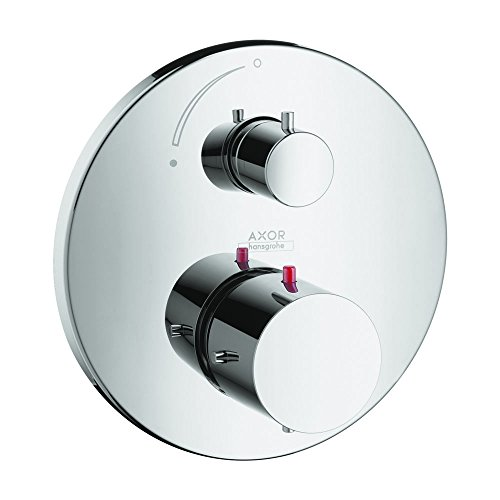 AXOR 10700001 Starck Thermostatic Trim with Volume Control, Chrome AXOR