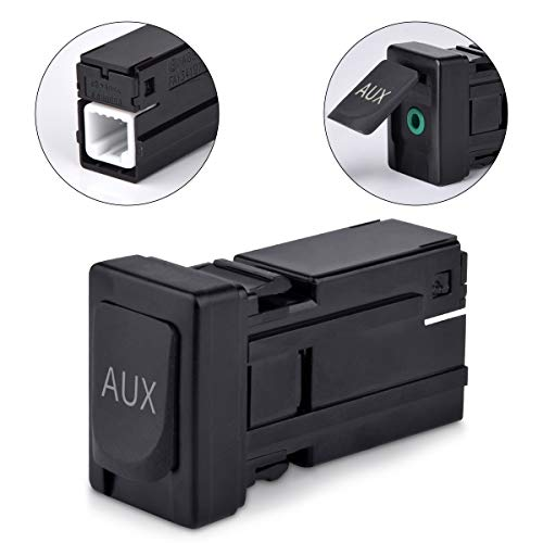Aux Adapter for Toyota Corolla Tundra Tacoma Aux Auxiliary Input Jack 86190-02010 (Auxiliary Aux Audio)