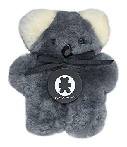 FLATOUTbear Baby Koala 100% Australian Sheepskin Small Teddy -