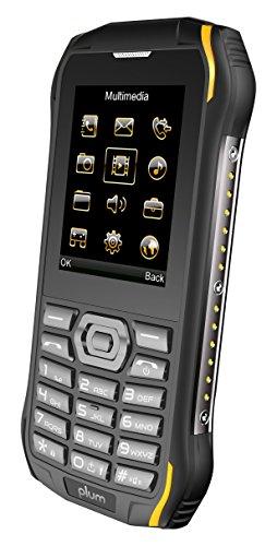 Plum Ram 6 - Rugged Unlocked Cell Phone GSM Shock Water Proof IP 68  Certified Military Grade Camera Flash Light FM Radio Bluetooth SD Card Slot  Dual