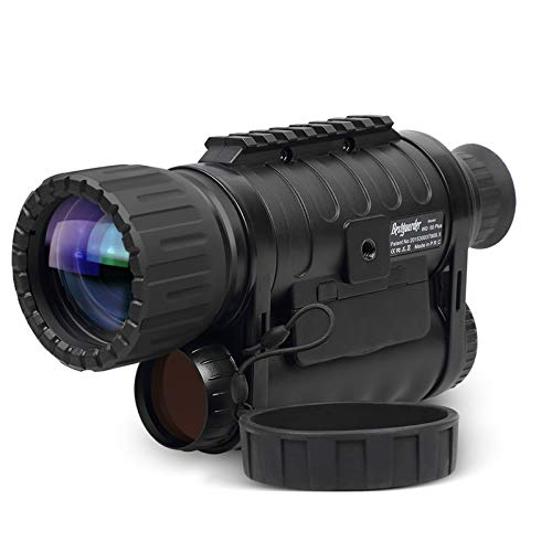 Infrared HD Night Vision Monocular with WiFi,Bestguarder WG-50 Plus,6-30X50MM Smart Digital Hunting Gear Can Takes 5mp Photo 720 Video from 1300ft Distance in Complete Darkness