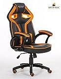 Green Soul Gaming / Office Chair (Alien Series) (GS-720 / Black-Orange)