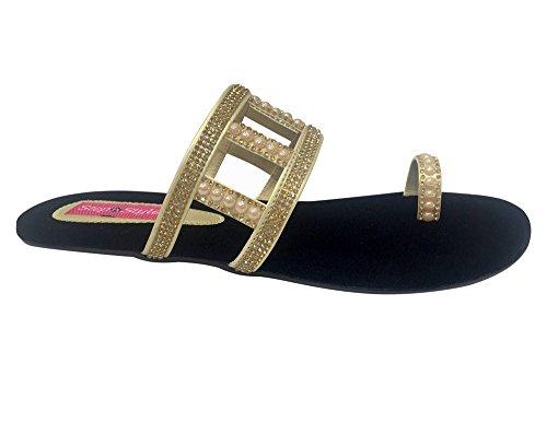 Step N Style Nuove Donne Di Cristallo Scarpe Tacco Alto Partito Dres Sandalo Scarpe Jutti Oro