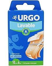 Urgo - Banda resistente al agua (10 tiras, 10 x 6 cm)