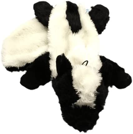 """""""""""""""Mad About Pets"""""""" Unstuffed Skunk Character Soft Dog Toy"""""""