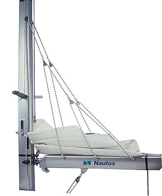 Nautos 001 - LAZY JACK TYPE A - SMALL SIZE - for sailboats up to 31'- - Sailboat Hardware