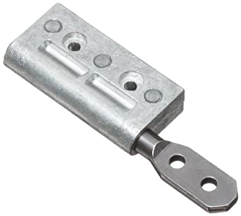 """TorqMaster Friction Hinge with Holes, 2-13/16"""" Leaf Height, 10 lbs/in Torque (Pack of 1)"""