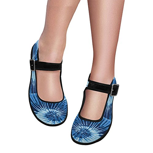 Interestprint Womens Comfort Mary Jane Flats Casual Walking Shoes Multi 2