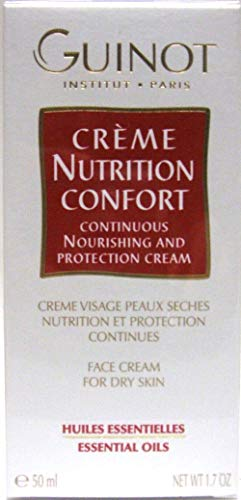 Dry Skin Nutrition Essential Oil Confort Nourishing Facial Protection Cream 1.7 Oz