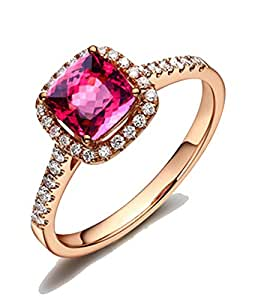 wedding rings amazon 1 50 carat cushion cut ruby and engagement ring 1011