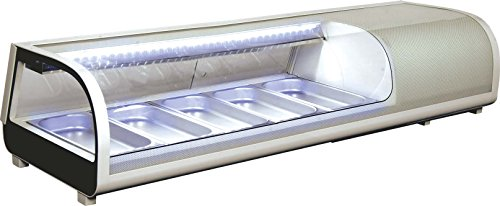 Display Sushi Case (Omcan 39997 Commercial Restaurant 53-inch 1.83 Cu. Ft. Sushi Show Case)