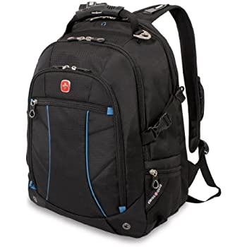 Amazon.com: Wenger SA1537 Grey Computer Backpack - Fits Most 15 ...