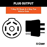 CURT 57101 Dual-Output Vehicle-Side Trailer Wiring