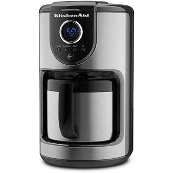 Amazon Com Kitchenaid 10 Cup Thermal Carafe Coffee Maker