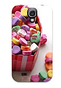 Special BenjaminHrez Skin Case Cover For Galaxy S4, Popular A Box Of Heart Sweets Phone Case