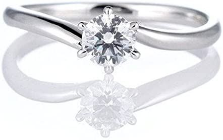 [해외]【SUEHIRO】 (약혼 반지) 다이아몬드 백 금 약혼 반지 약혼 반지 반지 반지 (Brand Jewelry 애니 벨) #5 / 【SUEHIRO】 Diamond Platinum Engagement Ring Engagement Ring Ring (Brand Jewelry Annie Bell) #5