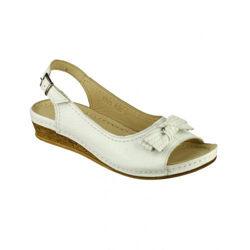 Cotswold Churn Ladies Summer Shoe Red toTrU
