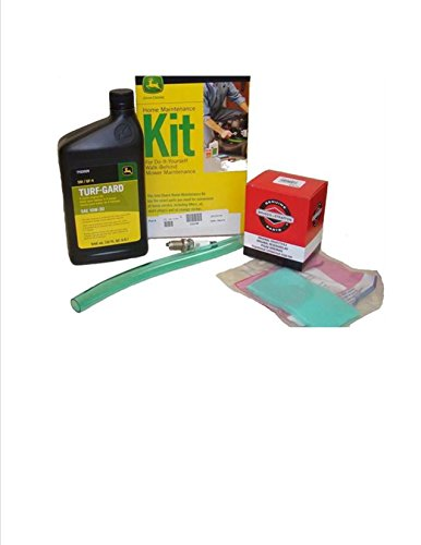 John Deere Maintenance Kit for JS40, JA60 JA62, JA65, JS60H, JS61, JS63, JS63C, JS63E, SP6211, SP6213 Walk Behind Mower Filter, Oil LG236