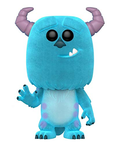 Funko POP! Disney: Monster's Inc - Flocked Sulley Amazon Exclusive Collectible Figure, Multicolor