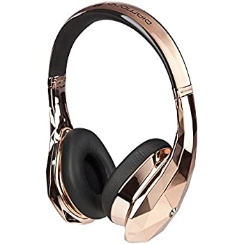 Monster DiamondZ Rose Gold On-Ear Headphones, Apple & Universal CT - Rose Gold