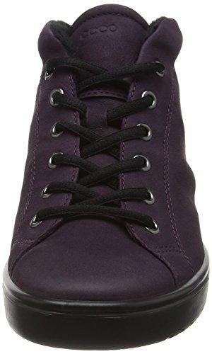 Sneakers Hautes Noir Femme Violet Fara Mauve2276 Ecco 75vq8x5
