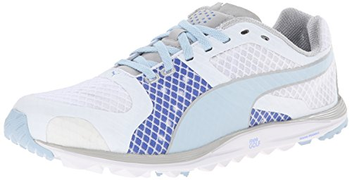 Scarpa Da Golf Pibi Womens Faas Xlite Spikeless Bianco / Omphalodes / Blu Oltremare
