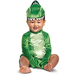 Disguise Baby Boys Rex Infant Costume, Green, (12-18 mths)